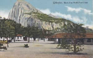 GIBRALTAR, 1900-1910's; Rock From North Front Camp