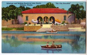 Solarium & Bathing Beach, Lake Estelle, Orlando FL