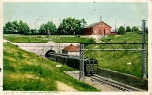 MI - Port Huron. St Clair Tunnel (Railroad).   *RPO- Port Huron Railroad
