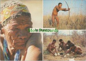 Namibia Postcard - Views of The Bushmen Tribe    RR11786