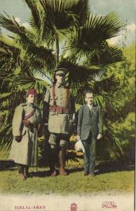 afghanistan, JALALABAD DJELAL-ABAD, Giant Officer (1910s) Freak Postcard