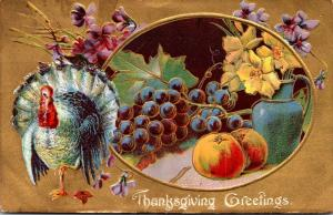 Thanksgiving With Turkey 1909