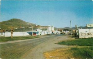 Autos Cayucos California Postcard Street Scene Frye Smith 3398