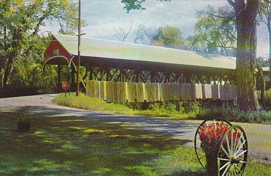 Covered Bridge Lancaster New Hampshire