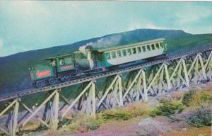 Mount Washington Cog Railway On Jacob's Ladder White Mountains New Hamps...