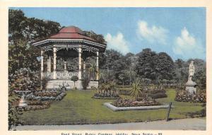 Canada Nova Scotie, Halifax, Band Stand Public Gardens, Jardin
