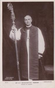 Dr A F Winnington Ingram Bishop Of London Real Photo