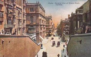 General View of Strada Reale Valletta,  Malta, 00-10s