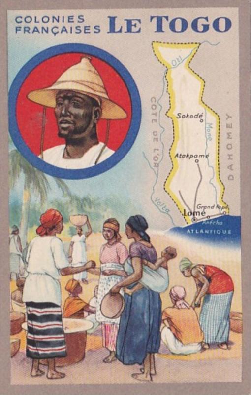 Colonies Francaises L'Afrique Equatoriale Francaise Le Togo