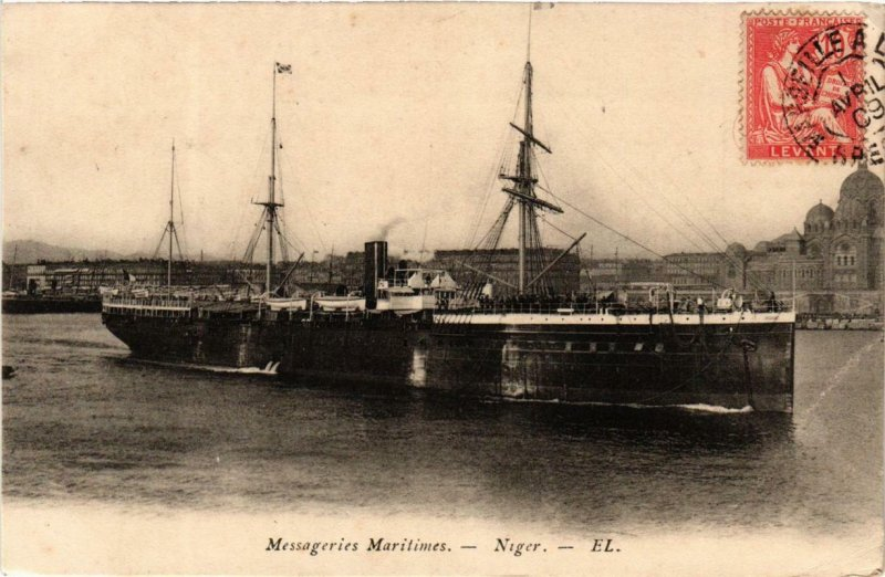 CPA Niger Messageries Maritimes SHIPS (755113)