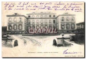 Postcard Old Brevannes Chateau Facade View Of The Avenue