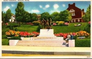 Maine Bangor The Peirce Memorial