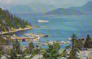 Canada West Vancouver Horseshoe Bay Aerial View