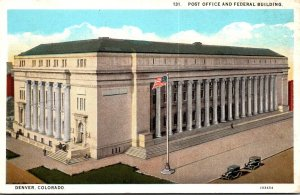 Colorado Denver Post Office and Federal Building 1929 Curteich