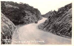 Scotland, UK Old Vintage Antique Post Card Road to Idyllwild Unused