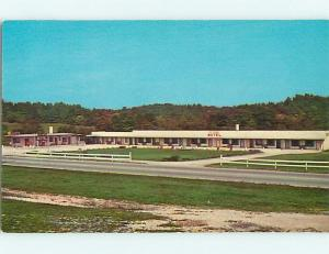 Unused Pre-1980 EL PATIO MOTEL Spencer Indiana IN u1864