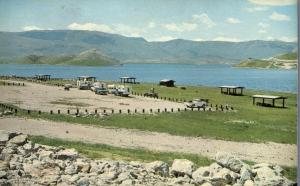 Campground at Hap Hawkins Reservoir near Dillon MT, Montana
