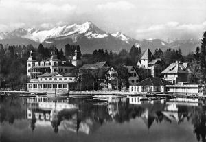 Kurort Velden am Woerthersee Lake Boats General view Mountain