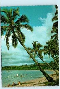 Saweni Beach Fiji Vintage 4x6 Postcard E16