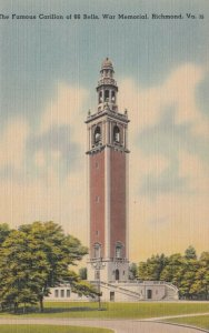 RICHMOND , Virginia , 30-40s ; Carillon of 66 Bells, War Memorial