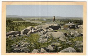 Gettysburg, Pa., View from Little Round Top