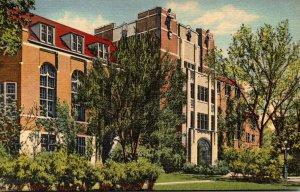 Michigan Ann Arbor The Michigan League Building University Of Michigan 1943 C...