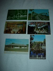 Clearwater FL - Lot Of 6 Great Vintage Postcards - x0571