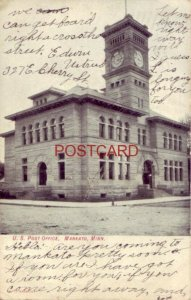 1907 U.S. POST OFFICE, MANKATO, MN.