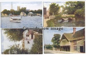 tb0159 - Dorset - Christchurch - 4 postcards
