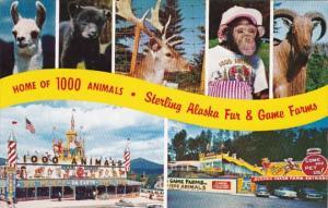 New York Lake Placid & Ausable Chasm Sterling Alaska Fur & Game Farms