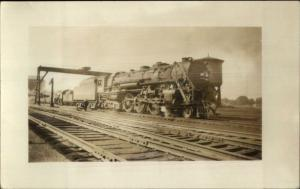 B&A Boston & Albany RR Train Locomotive #615 c1920s Real Photo Postcard
