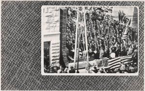 E54/ Occupational Real Photo RPPC Postcard c1910 Cornerstone Laying Building 14