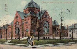 SPRINGFIELD, Ohio, 1911; Third Presbyterian Church