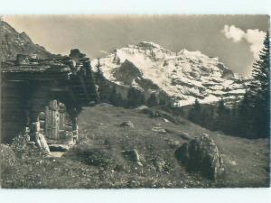 old rppc NICE VIEW Wengen In Bern Switzerland i1772