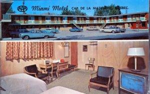 Cap De La Madeleine QUE Canada - MIAMI MOTEL 199 Boulevars Fusey 1960s