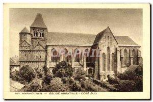 Postcard Old Marmoutier Abbey Church Cote Sud