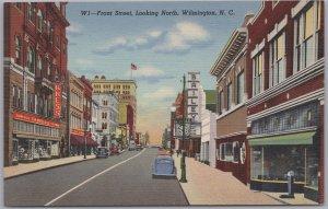 Wilmington, N. C., Front Street, Looking North