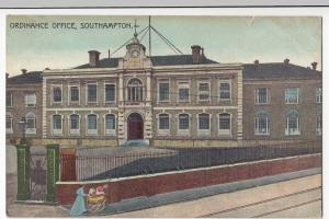 Hampshire; Ordinance Office, Southampton PPC, Unposted, c 1910's