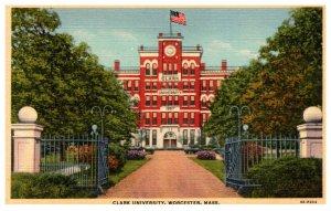 Massachusetts Worcester Clark University