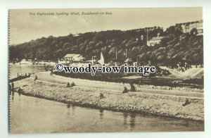 tp9471 - Essex - The Esplanade looking West along Southend-on-Sea - postcard