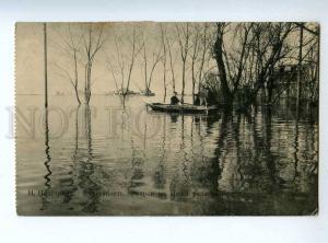 223568 RUSSIA Nizhny Novgorod during flood RPPC Shuya VLAD old