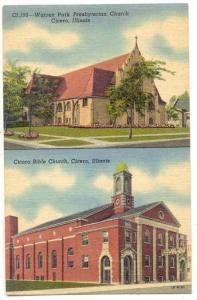 Warren Park Presbyterian  & Cicero Bible Church, Cicero, Illinois, 20-40
