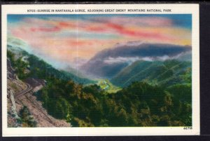 Sunrise in Nantahala Gorge,Adjoining Great Smoky Mountains National Park