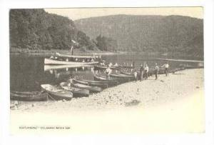 Boatlanding-Delaware Water Gap, 1900-1910s