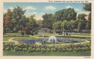 Lakeside Park and Zoo, Fond du Lac, Wisconsin, 30-40s