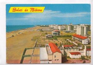 Saluti da Bibione, Spiaggia, Italy, 1974 used Postcard