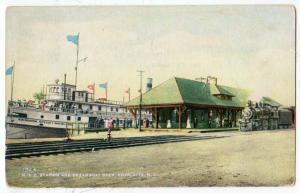 NYC Station & Steamboat Landing, Charlotte NY