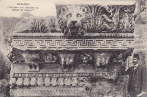 Corniche Des Colonnes Du Temple De Jupiter, Baalbek, Lebanon, 1900-1910s