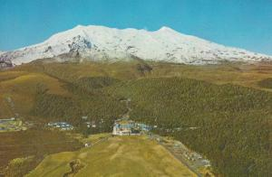 The Chateau Tongariro National Park New Zealand Postcard