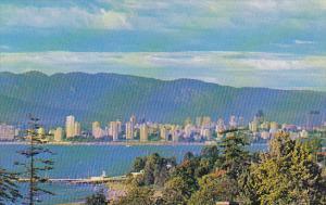 Canada English Bay Panoramic View Vancouver British Columbia
